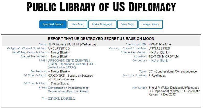 Resolvido o mistério base secreta dos EUA na Lua destruída pela URSS?
