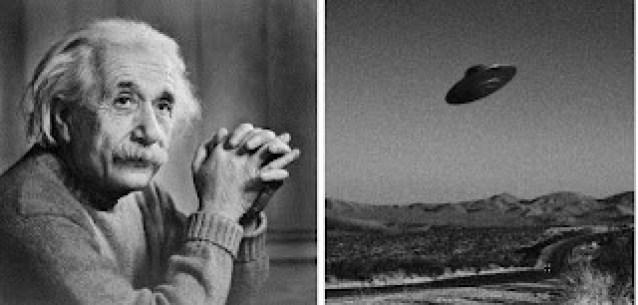 Deixe-me comentar sobre a história de Einstein em Roswell