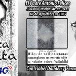 El Padre Antonio Felices y el Ovni de 1965