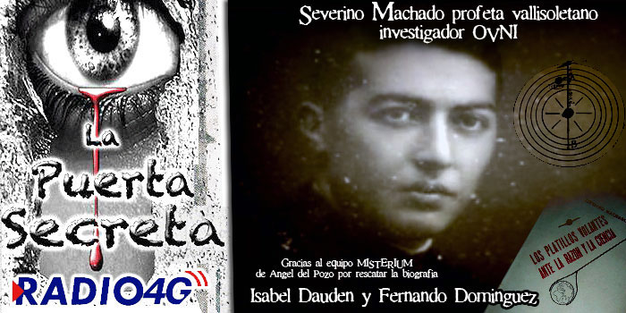 """Severino Machado """"Los platillos volantes ante la Razon y la Ciencia 1955"""""""