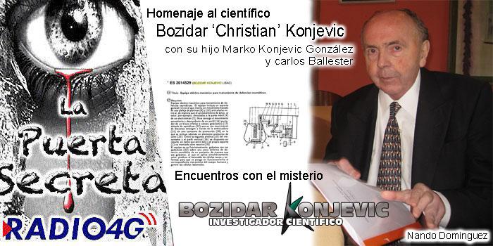 Homenaje al científico e inventor Bozidar Konjevic