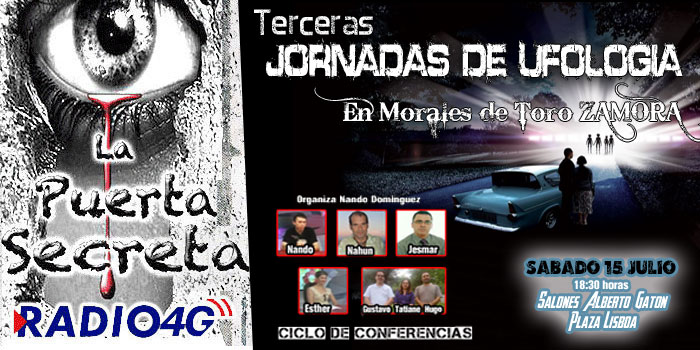 Terceras Jornadas de Ufologia en Morales de Toro Nando D. y Esther C