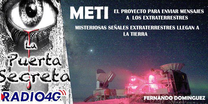 El proyecto METI Señales y Mensajes Extraterrestres