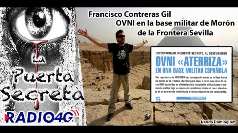 Ovni en la Base militar de Morón de la Frontera Sevilla con Francisco Contreras Gil
