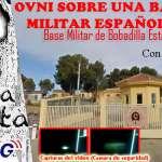 Ovni Grabado por una Base Militar en Malaga España con Juanfra Romero
