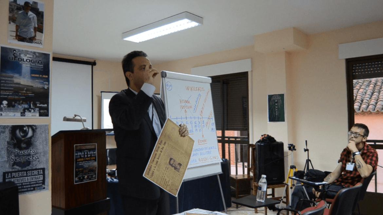 Expediente Rojas – Pierre Monteagudo – IV Jornadas de ufología