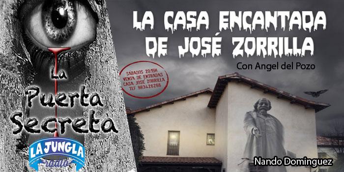 El lado mas misterioso del escritor Jose Zorrilla con Angel del Pozo