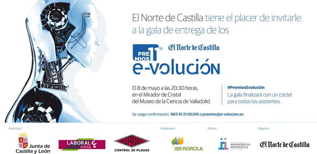 Gala Premios E-volución Del Norte de Castilla en Valladolid