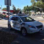 El coche autónomo de Google sufrió otro accidente