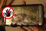 El Galaxy Note 7, prohibido en las aerolíneas de los EEUU