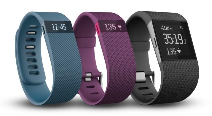 Una de las pulseras de Fitbit