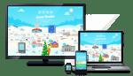 Google publicó su Aldea de Santa, con juegos para aprender a programar