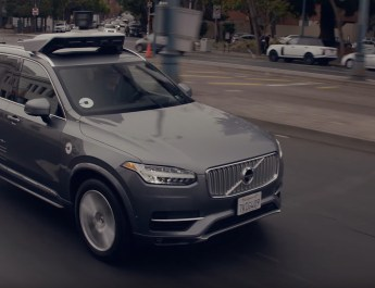 Auto sin conductor Uber