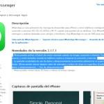 WhatsApp en iOS ahora permite eliminar mensajes según su tipo
