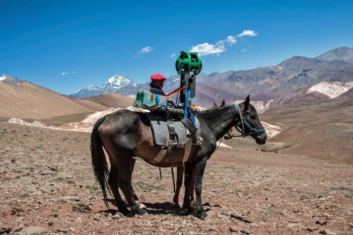 Google Street View Los Andes