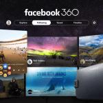 Facebook, con una app para navegar contenidos en 360°