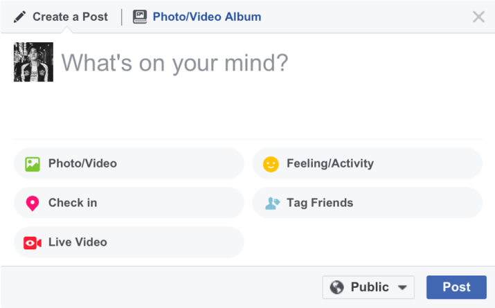 Facebook Live News Feed