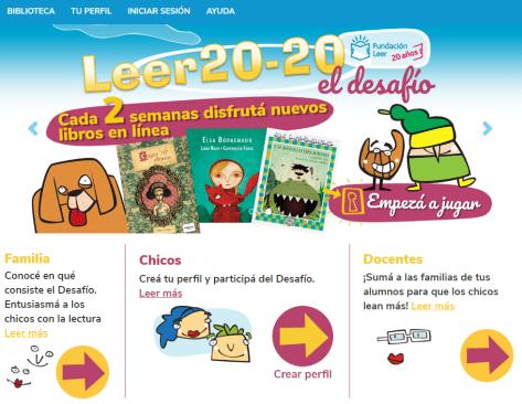 Leer 20-20 - El Desafío Fundación Leer 3