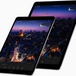 Apple presentó dos iPad Pro, con pantallas de 10,5'' y 12,9''