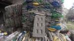 Argentinos que crean ladrillos con plástico reciclado, premiados por Google