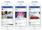 Facebook penalizará los posteos que pidan Me gusta o Compartir