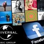 Los videos de Facebook e Instagram podrán tener canciones de Universal Music