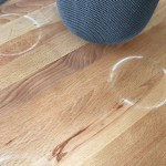 Los HomePod de Apple dejan marcas en superficies de madera