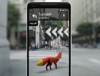 Google Maps Realidad Aumentada