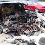 La batería de un Tesla Model S se incendió dos veces tras un accidente: es el segundo caso en pocos meses
