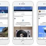 Facebook creó la sección Un día como hoy para no perder ningún recuerdo del pasado