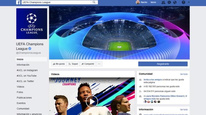 Facebook futbol en vivo