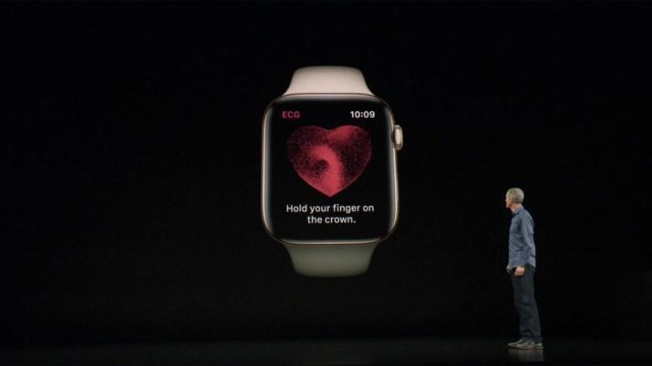 Electrocardiograma Apple Watch Series 4 1