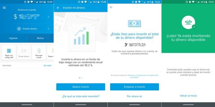 Invertir dinero Mercado Pago