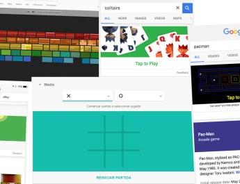 Juegos ocultos Google