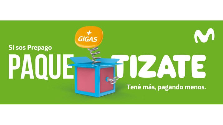 Paquetizate Movistar