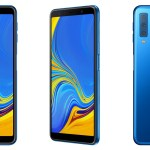 Samsung presentó el Galaxy A7 (2018) con nueva posición para el lector de huellas y triple cámara: para qué sirve