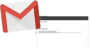 Autocompletar Gmail