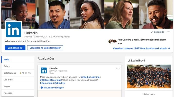 Nuevas Páginas LinkedIn
