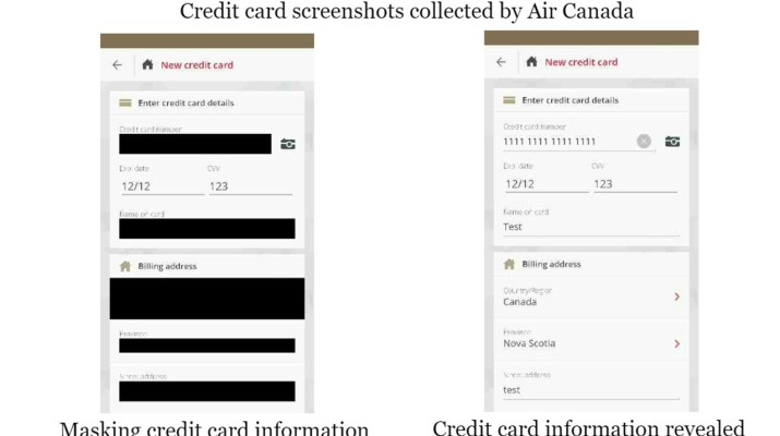 Air Canada tarjeta credito