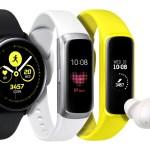 Samsung presentó un nuevo smartwatch y dos pulseras de actividad física: Galaxy Watch Active, Galaxy Fit y Galaxy Fit e