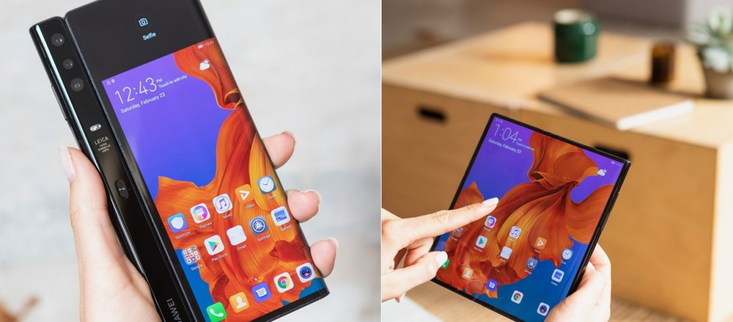 Huawei atrasó la salida de su celular plegable Mate X