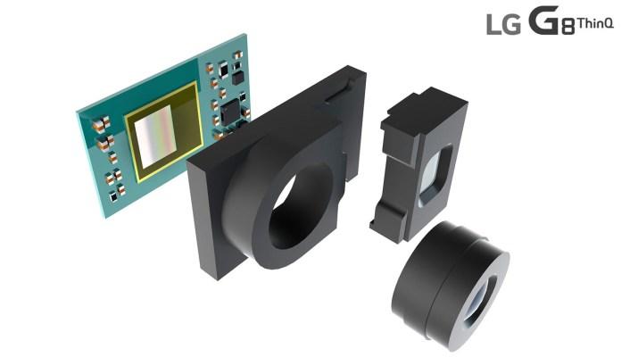 LG G8 camara 3d