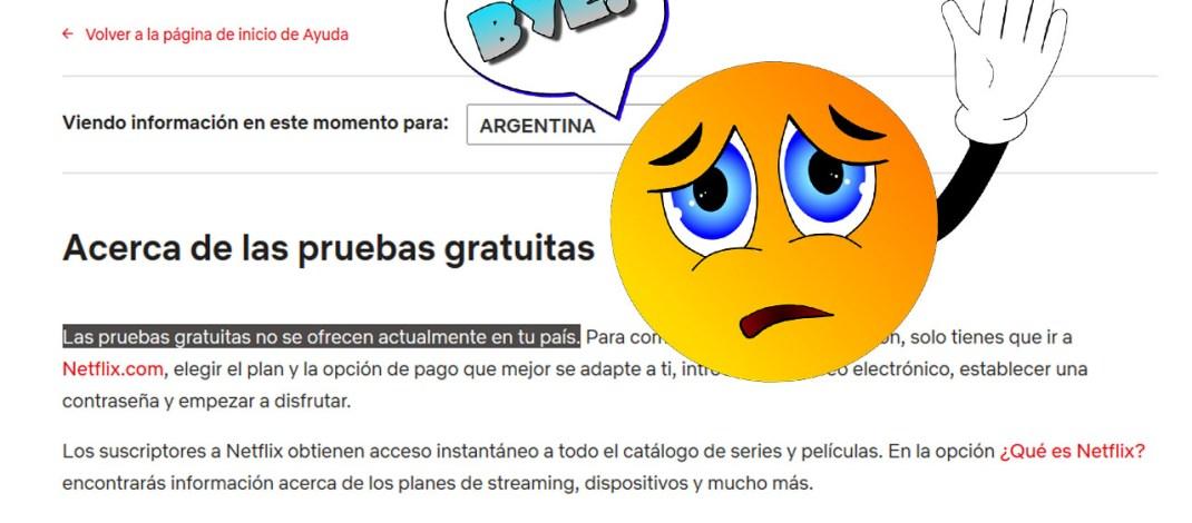 Netflix dejó de ofrecer el mes gratuito de pruebas en América Latina, salvo Brasil