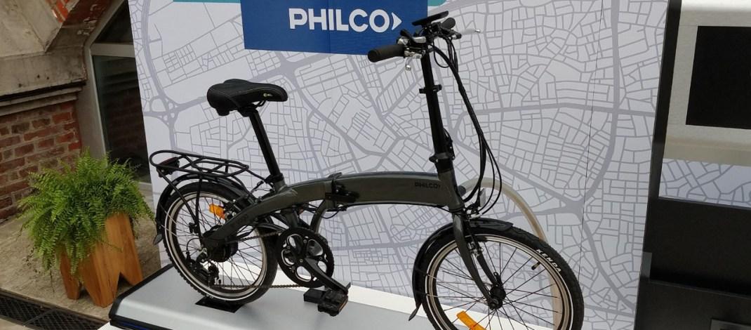 Philco presentó dos bicicletas eléctricas, una plegable y otra de paseo: autonomía y precios