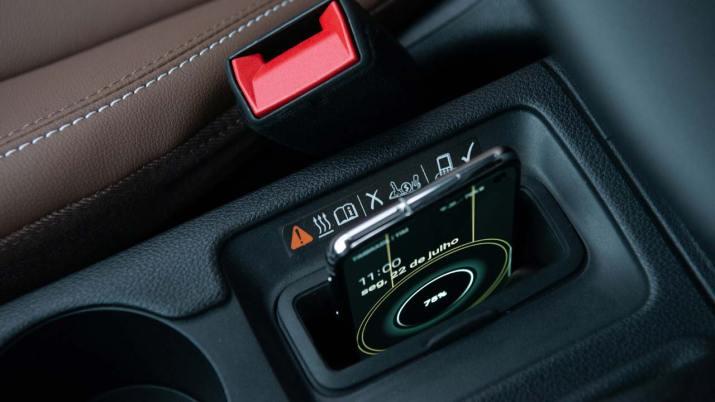 Cargador inalambrico Chevrolet Cruze
