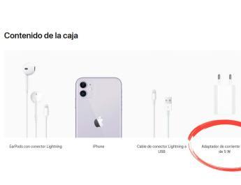 Cable carga rápida iPhone 11