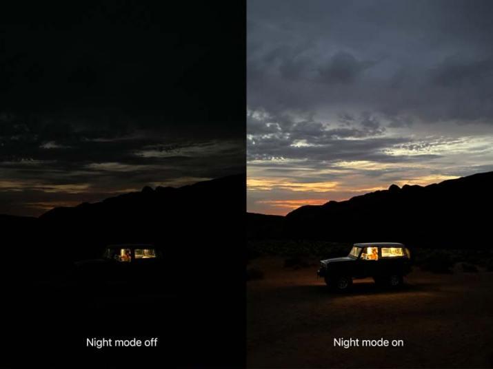 Modo noche iPhone 11