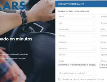 Checkars ahora tiene un cotizador de autos usados online que entrega información en tiempo real