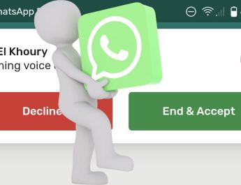 Llamada en espera WhatsApp