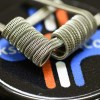Staggered Fused Clapton Tri Core -Easy Coil(2pcs)